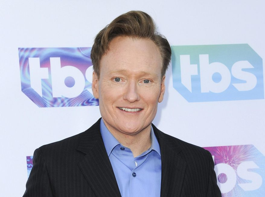"In this May 24, 2016 file photo, Conan O'Brien attends ""A Night Out With"" FYC Event in Los Angeles. (Photo by Richard Shotwell/Invision/AP, File)"