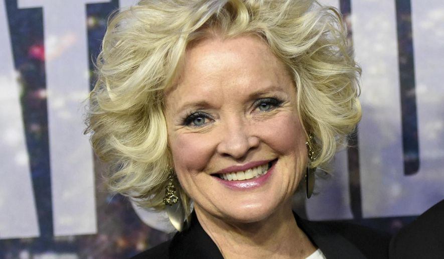 """FILE - In this Feb. 15, 2015 file photo, Christine Ebersole attends the SNL 40th Anniversary Special in New York. The musical """"War Paint,"""" about cosmetics titans Helena Rubinstein and Elizabeth Arden, starring Patti LuPone and Ebersole, will be moving to the bright lights of Broadway. Previews begin in March at the Nederlander Theatre. (Photo by Evan Agostini/Invision/AP, File)"""