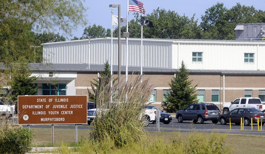 """FILE - This Sept. 8, 2011, file photo, shows the Illinois Youth Center in Murphysboro, Ill. Illinois Gov. Bruce Rauner on Friday, Oct. 14, 2016, ordered the former youth prison be re-opened as a center designed to reduce recidivism in his ongoing effort to reform criminal justice. The Republican said the closed youth center will be renovated as a minimum-security prison focused on """"life skills and re-entry,"""" where inmates nearing their release dates will receive educational, vocational and life-skills training. (Steve Jahnke/The Southern Illinoisan via AP, File)"""