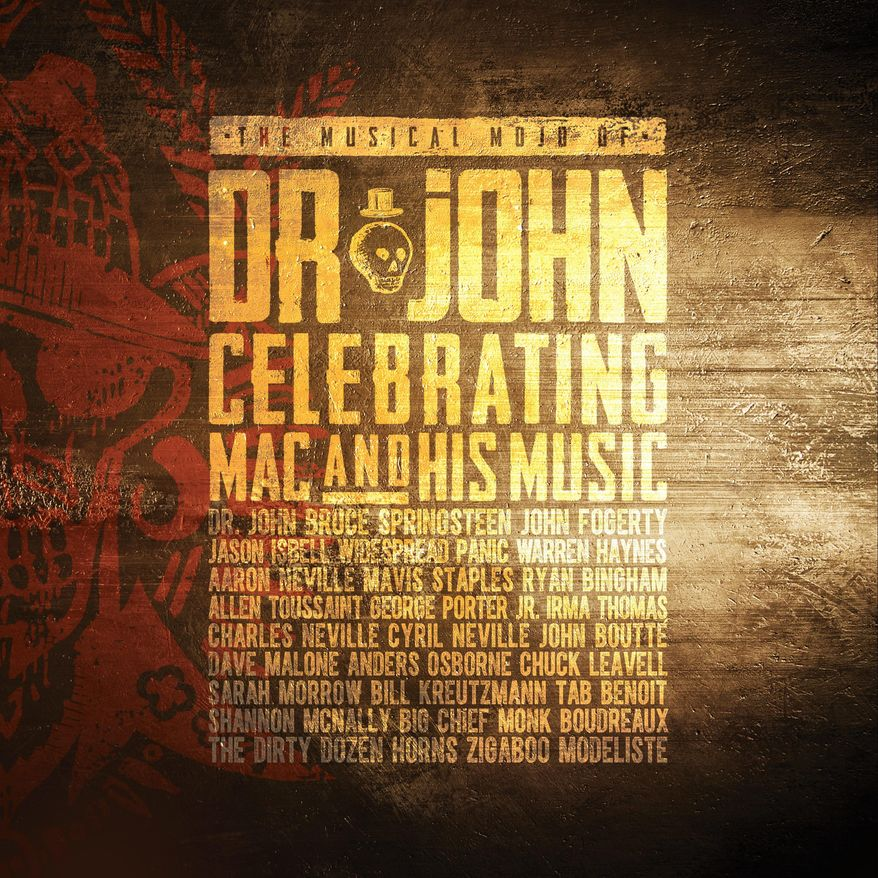 """This cover image released by Concord Records shows, """"The Musical Mojo Of Dr. John: Celebrating Mac And His Music,"""" by Dr. John. (Concord Records via AP)"""