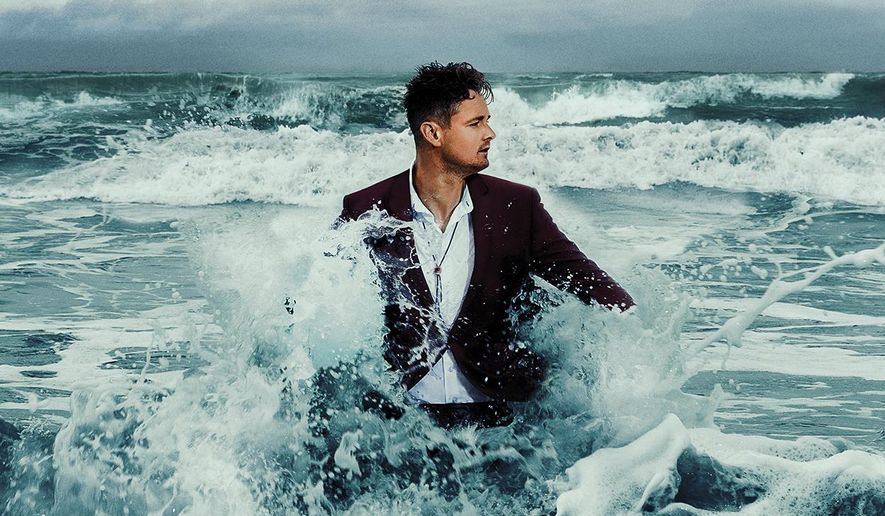 """This cover image released by Island Records shows """"The Wave,"""" by Tom Chaplin. (Island Records via AP)"""