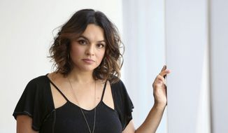 """In this Oct. 6, 2016 photo, Norah Jones poses for a portrait to promote her new album """"Day Breaks"""" in New York. (Photo by Amy Sussman/Invision/AP)"""