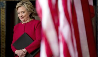 A half-dozen laptops were used to go over Hillary Clinton's messages and decide which ones to belatedly comply with the law and turn back over to the government, and at least one of them was subsequently hooked up to the internet, lawyers admitted to the FBI. (Associated Press)
