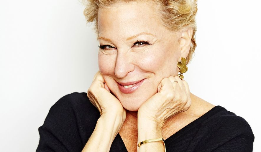 In this Oct. 7, 2014, file photo, Bette Midler poses for a portrait in New York. On Dec. 22, 2016, the singer and actress tweeted a vulgar remark reacting to the news that former Trump campaign manager Kellyanne Conway had accepted a job in the Trump White House, going back on her earlier statement that she would not join the administration. (Photo by Dan Hallman/Invision/AP) **FILE**