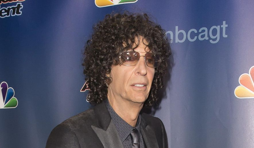 "In this Sept. 16, 2015, file photo, Howard Stern attends the ""America's Got Talent"" finale post-show red carpet in New York. (Photo by Ben Hider/Invision/AP, File)"