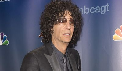 """In this Sept. 16, 2015 file photo, Howard Stern attends the """"America's Got Talent"""" finale post-show red carpet in New York. Stern doesn't plan to air old interviews with Donald Trump featuring the now Republican presidential candidate discussing his sexual exploits. The talk show host says he wouldn't dig into his archives because it would be a betrayal to any of his guests if he played them at a time when others are attacking him. (Photo by Ben Hider/Invision/AP, File)"""