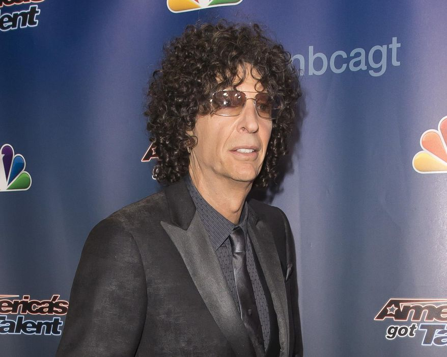 """In this Sept. 16, 2015, file photo, Howard Stern attends the """"America's Got Talent"""" finale post-show red carpet in New York. (Photo by Ben Hider/Invision/AP, File)"""