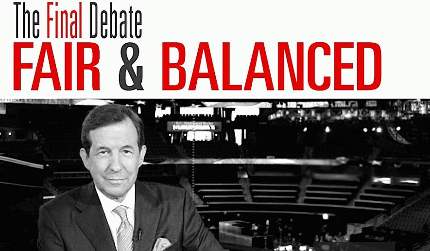 Many Republicans are relieved that Fox News anchor Chris Wallace will be the moderator for the final presidential debate. (Fox News)