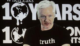 WikiLeaks founder Julian Assange (Associated Press)