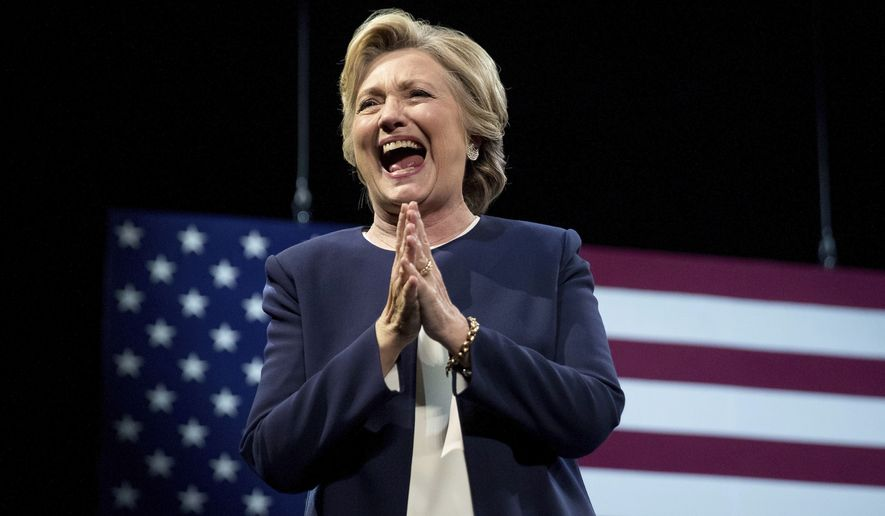 Recent polls, almost all of which show the former first lady enjoying a comfortable lead, have Hillary Clinton's campaign believing it's firmly in the driver's seat. (Associated Press)