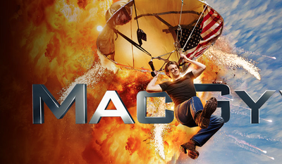 "Screen capture from official CBS.com page for the 2016 ""MacGyver"" series."