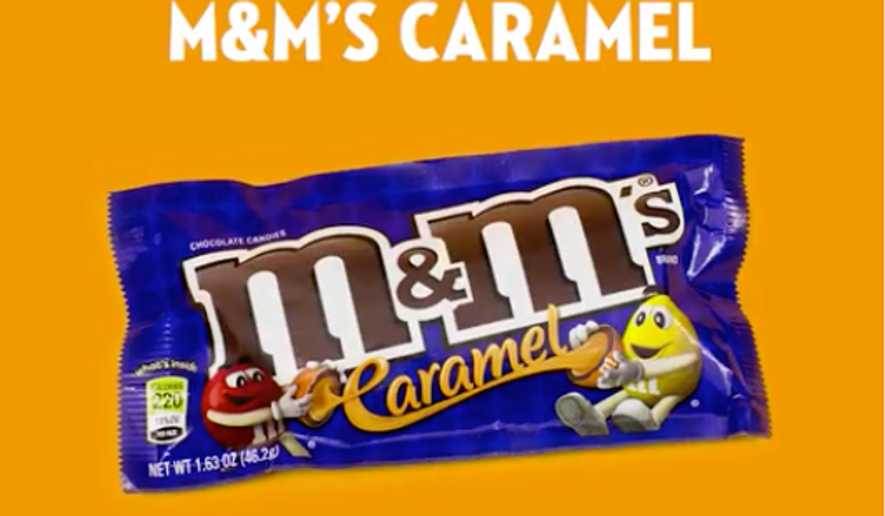 Screen captured from a Twitter video by M&Ms.