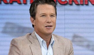"FILE - In this Sept. 26, 2016 file photo released by NBC, co-host Billy Bush appears on the ""Today"" show in New York.  The fallout over Bush's lewd conversation with Donald Trump has left NBC's ""Today"" show unexpectedly looking for help in its third hour and Bush pondering how to resurrect his career. (Peter Kramer/NBC via AP, File)"