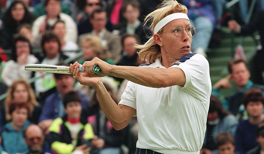 In 2005, Tennis magazine selected Martina Navratilova as the greatest female  tennis player for the