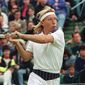 In 2005, Tennis magazine selected Martina Navratilova as the greatest female tennis player for the years 1965 through 2005. Navratilova was World No. 1 for a total of 332 weeks in singles, and a record 237 weeks in doubles, making her the only player in history to have held the top spot in both singles and doubles for over 200 weeks. (AP Photo) ** FILE **