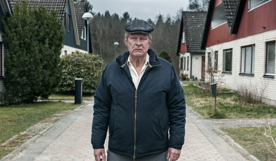 "Rolf Lassgard in ""A Man Called Ove.""  (Music Box Films)"