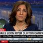 Center for American Progress President Neera Tanden refused to discuss WikiLeaks emails while appearing on CNN with host Chris Cuomo, Oct. 20, 2016. (CNN screenshot)