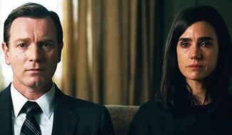 "Ewan McGregor and Jennifer Connelly in a scene from Mr. McGregor's film adaptation of Philip Roth's novel ""American Pastoral.""  (Details)"