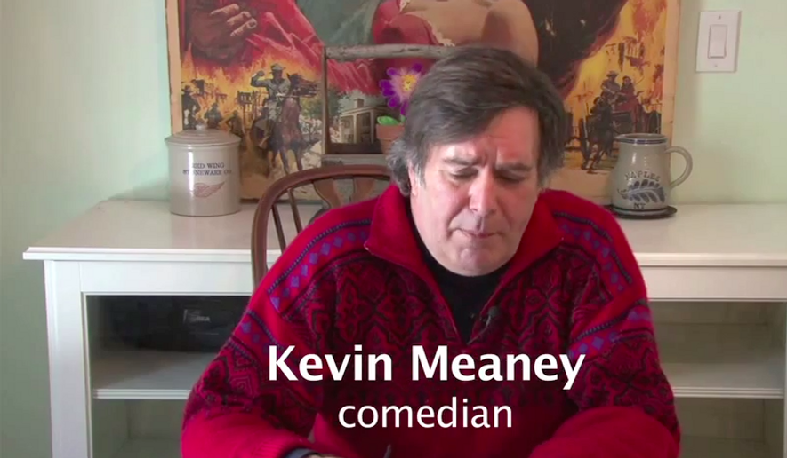 Comedian Kevin Meaney, pictured, from a screen capture from the late comedian's YouTube page. The comedian died at the age of 60 at his New York home on Oct. 21, 2016. A cause of death was not immediately known.