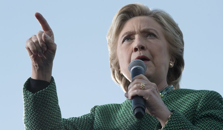 A number of less-noticed conversations on the explosive undercover videos released by Project Veritas Action last week suggest coordination among the Hillary Clinton campaign, the Democratic National Committee and pro-Democrat third-party groups. (Associated Press)