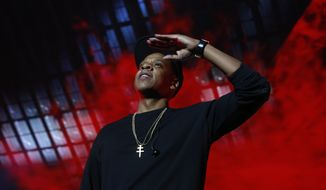 Jay Z will try to mobilize voters for Hillary Clinton prior to Nov. 8. (Associated Press)