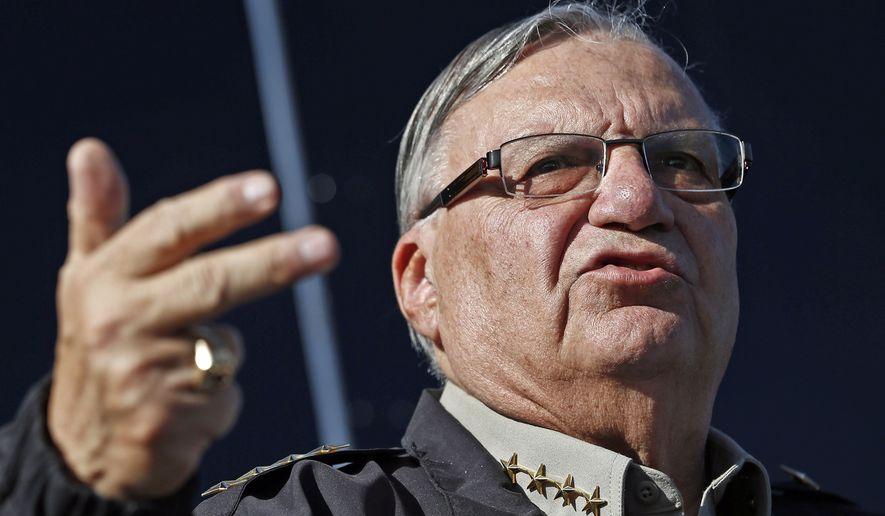 Maricopa County Sheriff Joe Arpaio (Associated Press)
