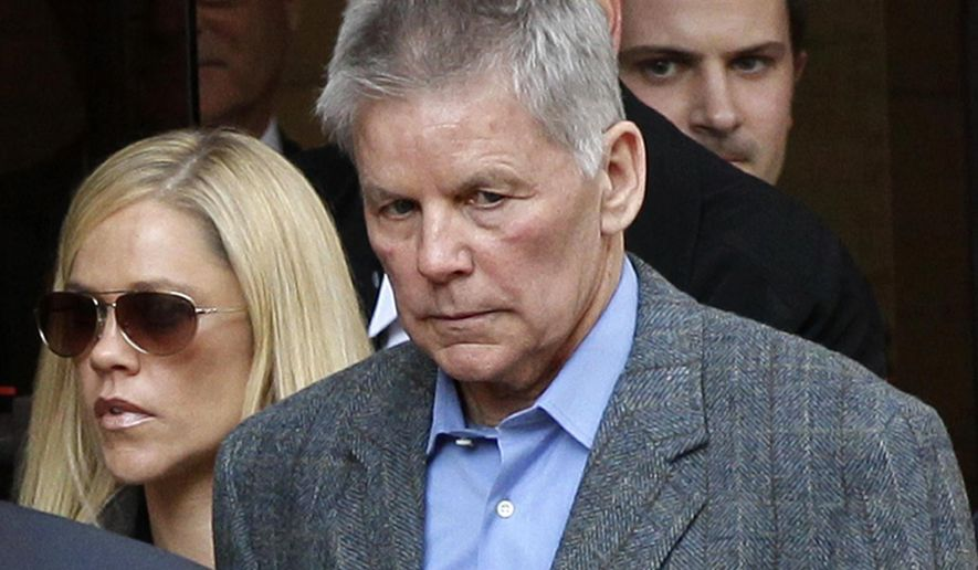 FILE - In this Nov. 1, 2010 file photo, former U.S. Rep. Gary Condit leaves District of Columbia Superior Court in Washington after testifying in the trial of Ingmar Guandique. Condit 's appearance on 'Dr. Phil,' in which he discussed the Chandra Levy case is set to air on Oct. 27, 2016. (AP Photo/J. Scott Applewhite, File)