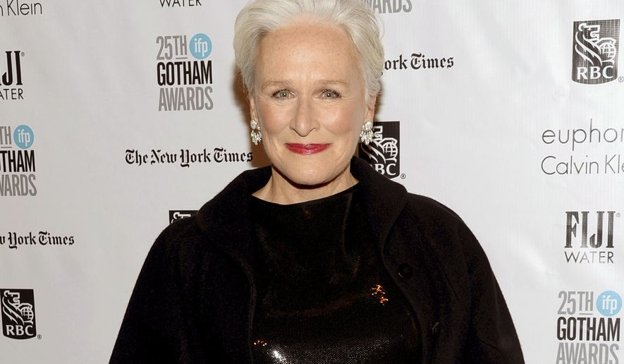 "FILE - In this Nov. 30, 2015 file photo, Glenn Close attends The Independent Filmmaker Project's 25th annual Gotham Independent Film Awards in New York. Close will again star as Norma Desmond, the aging silent film star from the musical ""Sunset Boulevard"" when it comes to Broadway's Palace Theatre in February 2017.  (Photo by Evan Agostini/Invision/AP, File)"