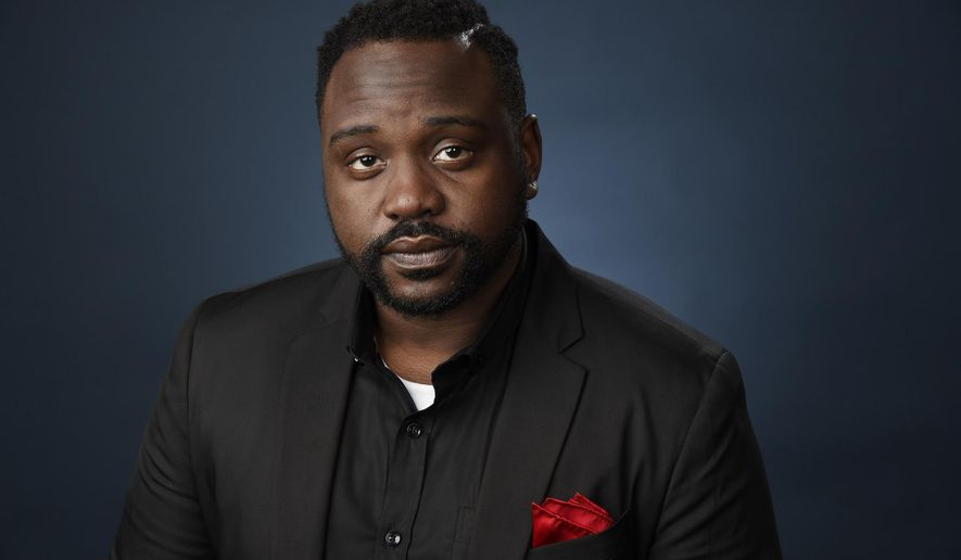 "FILE - In this Aug. 9, 2016 file photo, Brian Tyree Henry, a cast member in ""Atlanta,"" poses for a portrait during the 2016 Television Critics Association Summer Press Tour in Beverly Hills, Calif. Henry portrays an aspiring rapper named Alfred who goes by the moniker Paper Boi in the FX series airing Tuesdays.(Photo by Chris Pizzello/Invision/AP, File)"