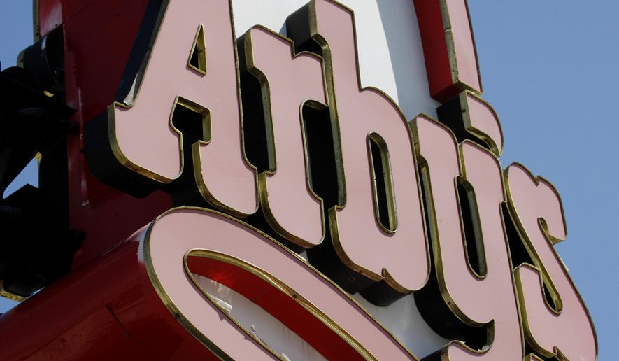 In this Monday, March 1, 2010, file photo, an Arby's restaurant sign is shown in Cutler Bay, Fla. (AP Photo/Wilfredo Lee, File)
