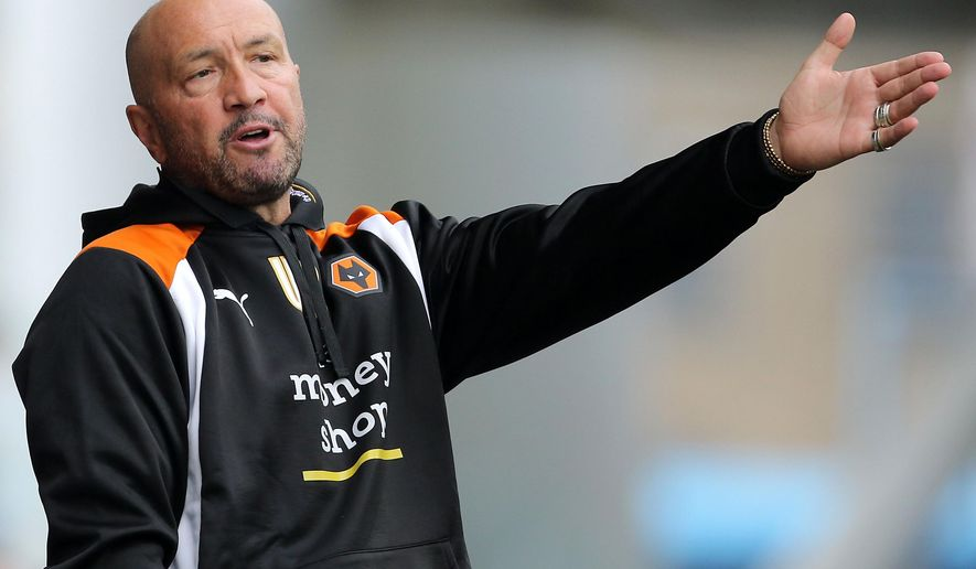 FILE - This is a  Aug. 27, 2016 file photo of Walter Zenga former Italian international goalkeeper and most recently head coach of the English soccer team Wolverhampton Wanderers . Wolves announced Tuesday Oct. 25, 2016. that Zenga's contract has been terminated with immediate effect.  (Richard Sellers/PA via AP)