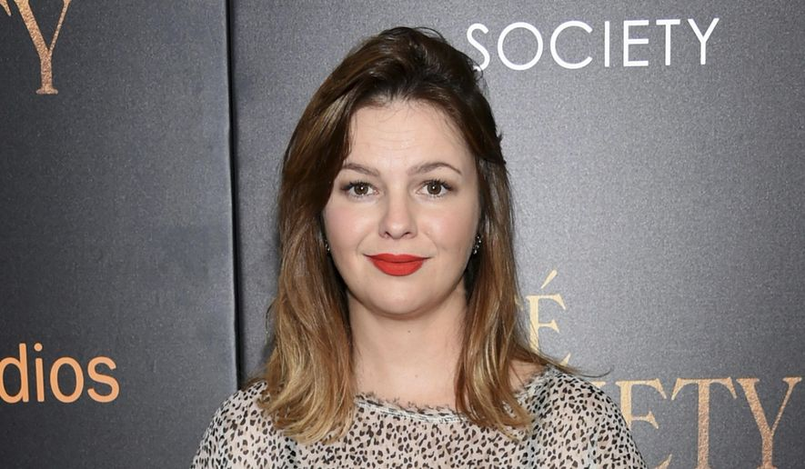 "In this July 13, 2016, file photo, actress Amber Tamblyn attends the premiere of Amazon Studio and Liongate's ""Cafe Society"", in New York. (Photo by Evan Agostini/Invision/AP, File)"