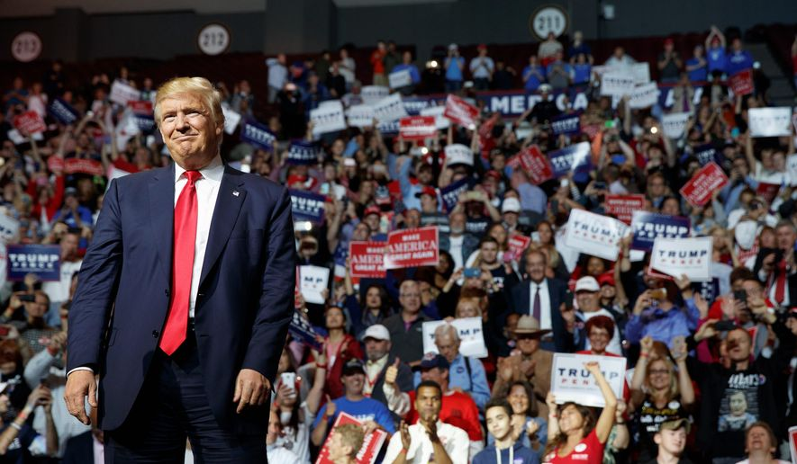 A conversation has emerged about a hidden population of Americans who could suddenly step forward and vote for Donald Trump. (Associated Press)