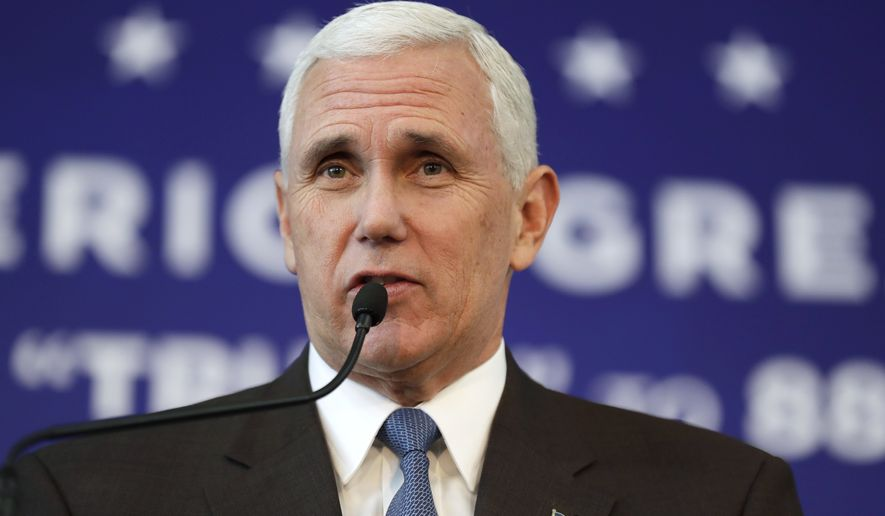 Mike Pence (Associated Press)