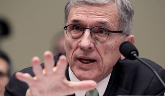 """It's the consumer's information. How it is used should be the consumer's choice, not the choice of some corporate algorithm,"" said FCC Chairman Tom Wheeler, who led the push for the changes. (Associated Press)"