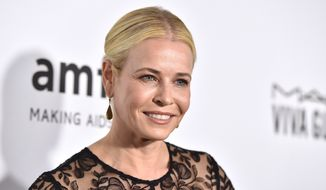 Chelsea Handler arrives at the amfAR Inspiration Gala Los Angeles at Milk Studios on Thursday, Oct. 27, 2016. (Photo by Jordan Strauss/Invision/AP)