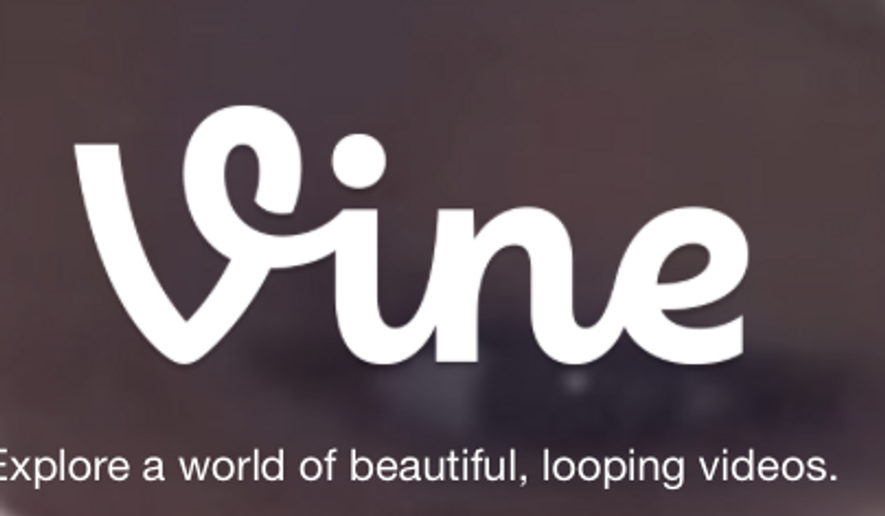 A screen capture from the official Vine website. On Oct. 27, Twitter announced it was discontinuing the 6-second looping-video app.
