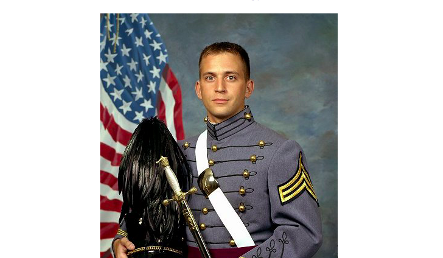 Robert Seidel III, a U.S. Army officer killed in action in Iraq in 2006, depicted here in his West Point uniform. He was only 23. On Oct. 29, 2016, his hometown of Emmitsburg, Md., is dedicating a bridge in his honor. Photo via http://www.west-point.org/users/usma2004/61098/