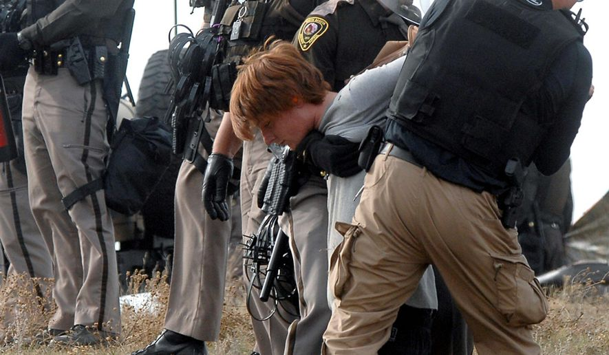 Critics of the Obama administration say that the president was unduly harsh on the protesters who occupied the Malheur National Wildlife Refuge in Oregon but has allowed protesters of the Dakota Access Pipeline in North Dakato largely off the hook. (Associated Press)