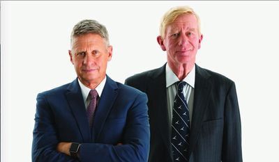 Libertarian candidates Gary Johnson and William Weld say unique circumstances could play in their favor as Election Day nears. (Gary Johnson)