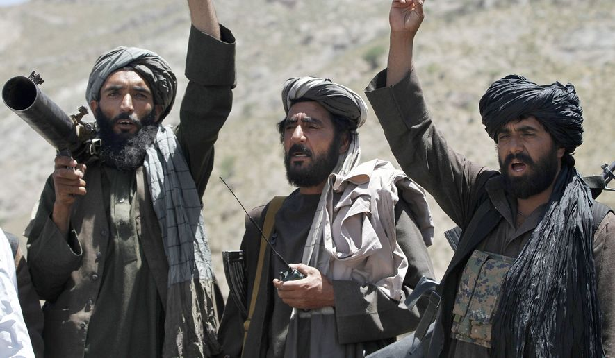 Taliban leaders on Wednesday issued a statement calling for President-elect Donald Trump to withdraw all U.S. troops from Afghanistan.