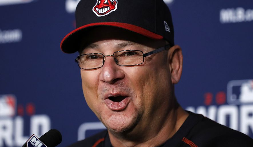 Cleveland Indians manager Terry Francona talks during a news conference Monday, Oct. 31, 2016 for baseball's upcoming World Series Game 6 against the Chicago Cubs at Progressive Field Tuesday night in Cleveland. (AP Photo/Gene J. Puskar) **FILE**