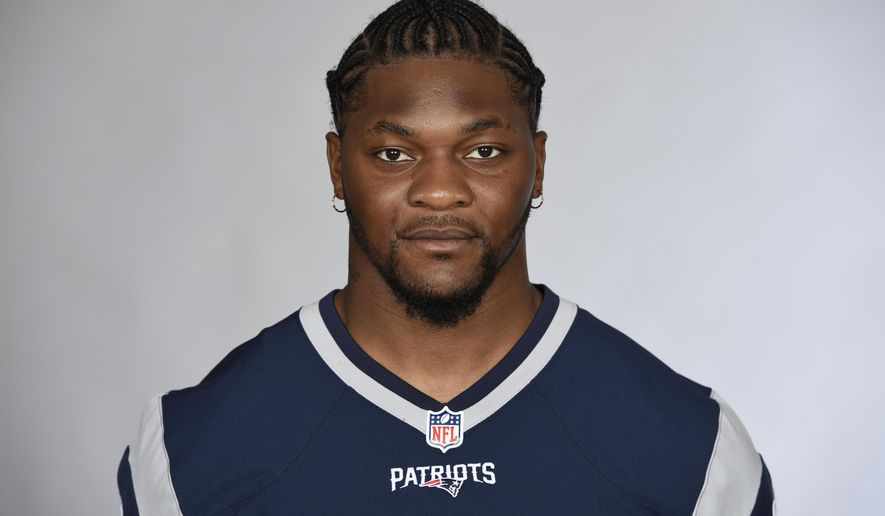 FILE - This is a 2016 file photo showing Jamie Collins of the New England Patriots NFL football team. The Cleveland Browns have acquired linebacker Jamie Collins from New England, a person with knowledge of the trade tells The Associated Press.The person spoke on condition of anonymity Monday, Oct. 31, 2016,  because the deal has not officially been announced. Tuesday is the NFL's trade deadline. (AP Photo/File)