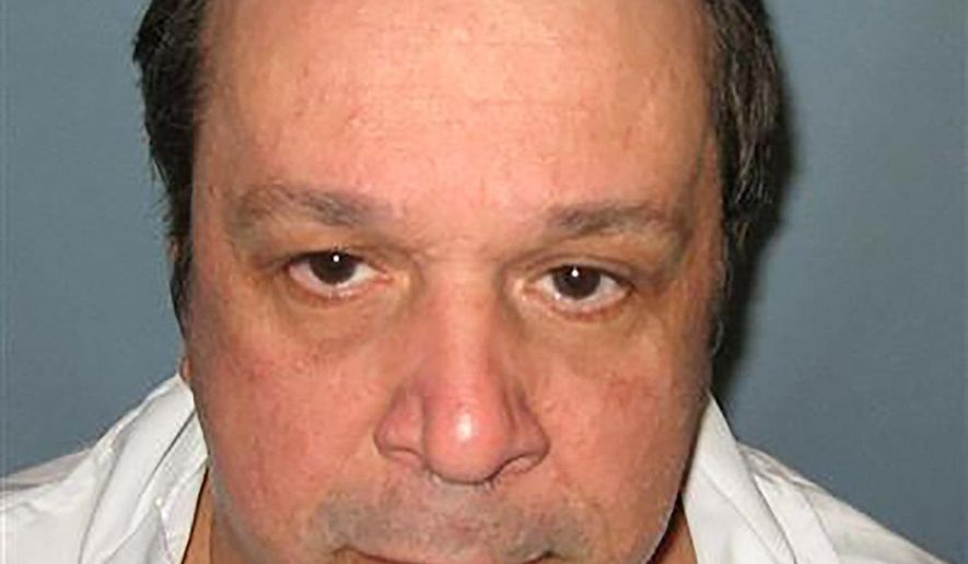 This undated photo provided by the Alabama Department of Corrections shows death row inmate Bill Kuenzel, sentenced to death for the shooting death of store clerk Linda Jean Offord in 1987. The U.S. Supreme Court on Monday Oct. 31, 2016 declined to hear an appeal by the inmate, who claims he is innocent. (AP Photo/Alabama Department of Corrections)
