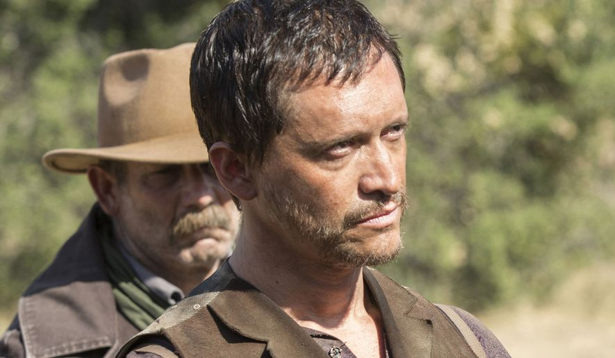"Clifton Collins Jr. in a scene from ""Westworld.""  (Digital Trends)"