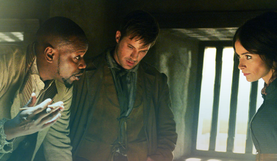 """Screen capture from the official """"Timeless"""" page at NBC.com/Timeless."""