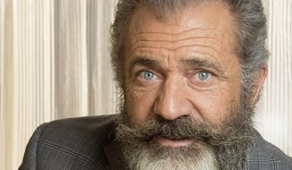 "Mel Gibson poses for a photo at the Ritz Carlton in New Orleans, Wednesday, Oct. 26, 2016. Gibson directed a film about Congressional Medal of Honor recipient Desmond Doss in a new movie titled, ""Hacksaw Ridge."" (AP Photo/Max Becherer)"