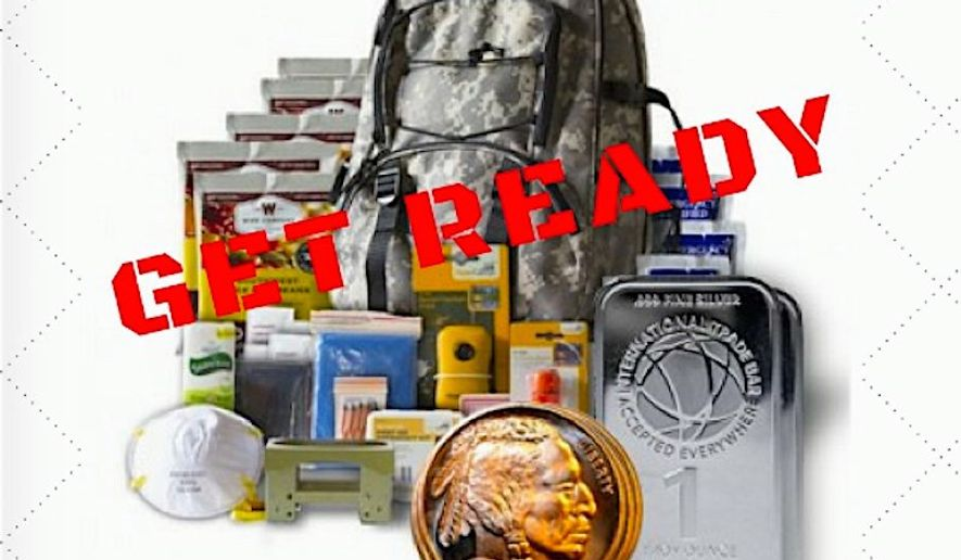 "Two businesses are now offering ""election armageddon"" survival packages, just in case thing get weird on Nov. 8. (U.S. gold bureau)"