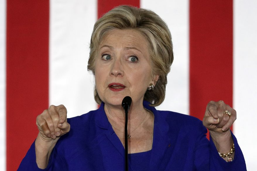 The problem for Hillary Clinton is critical in Florida, the biggest battleground prize, where blacks have accounted for 11.58 percent of all early voters this year. (Associated Press)
