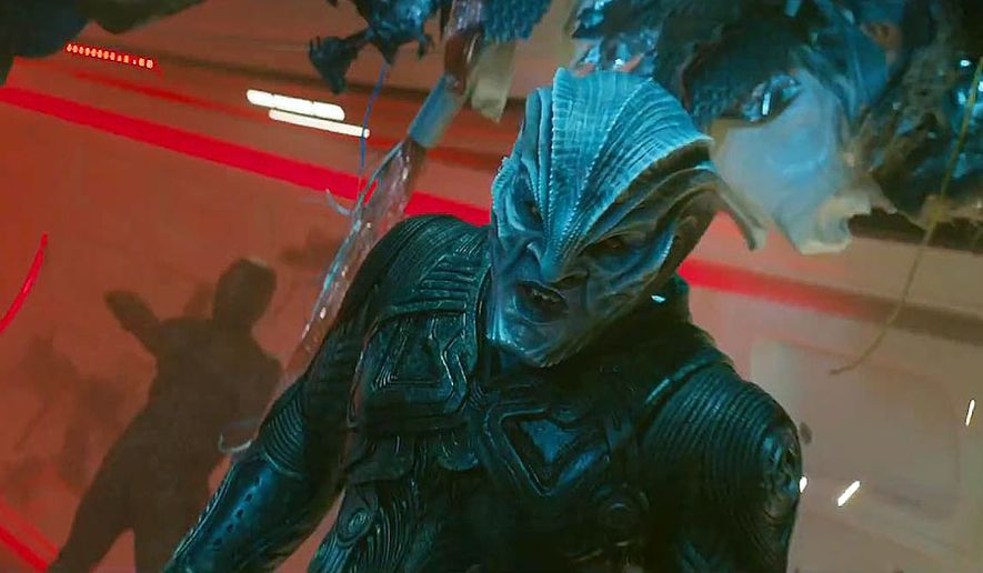 """Idris Elba co-stars as the villian Krall in """"Star Trek Beyond,"""" now availbale in 4K UHD from Paramount Home Entertainment."""